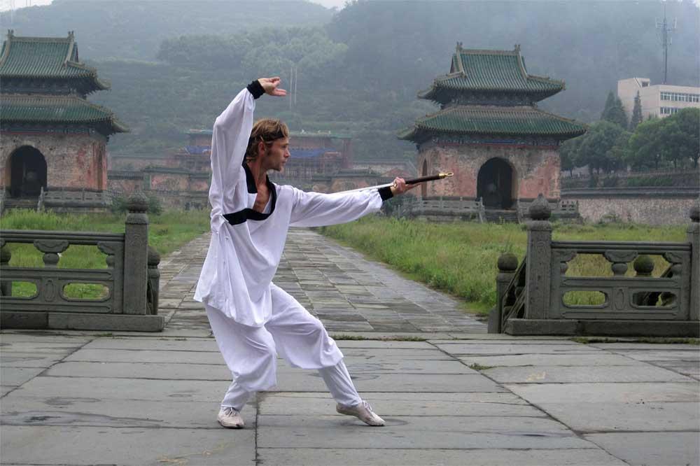 kungfu tréning Čína 2010