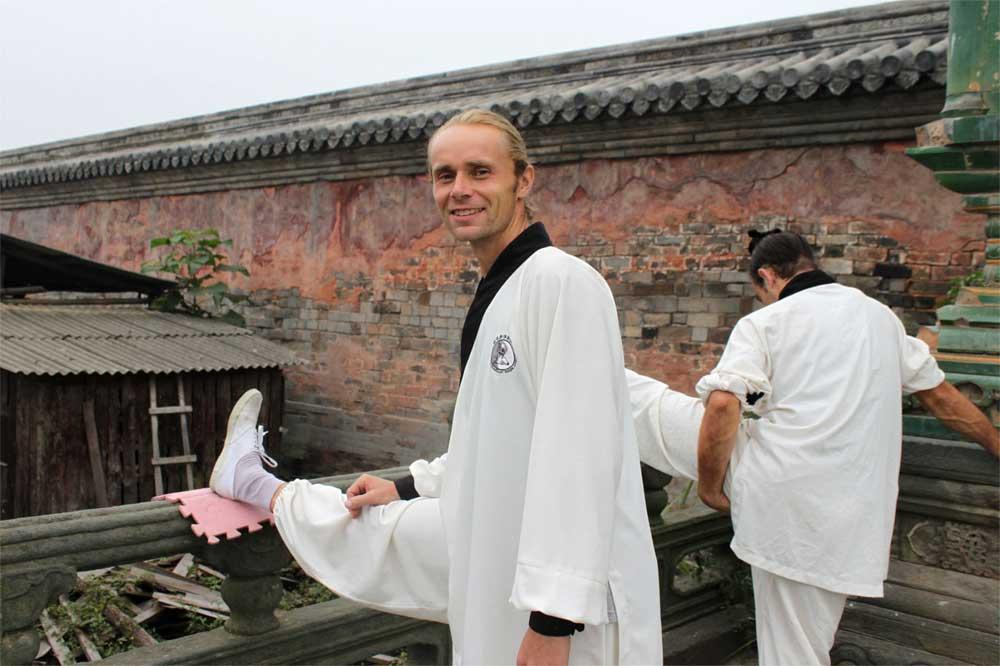 strečing Čína 2011