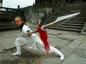 Wudang kungfu Brno - kopí